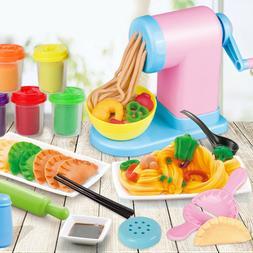 1 Set of Noodle Maker Toy Color Mud Pasta Machine Toy for Ki