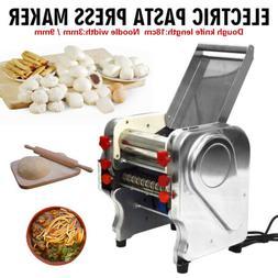 110V 3/ 9mm Commercial Electric Pasta Press Maker Noodle Mac