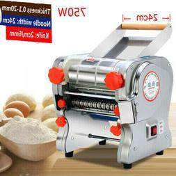 110V Electric Pasta Maker Dough Roller Noodle Machine Commer