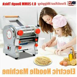 110V Electric Pasta Press Maker Noodle Machine Stainless Ste