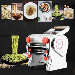 110V Stainless Steel Electric Pasta Press Maker Noodle Machi