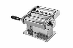 MARCATO 150 Pasta Machine, Made in Italy, Includes Cutter, H