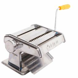 "150mm 6"" Pasta Maker & Roller Machine Noodle Fettuccine Make"