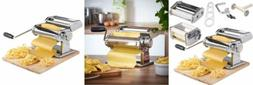 VonShef Pasta Maker, 3 in 1 Machine Stainless Steel, Roller