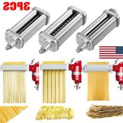 3-piece For KitchenAid Kpra Pasta Roller Cutter Maker Stand
