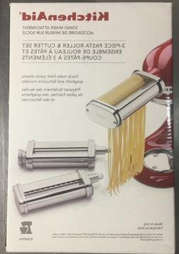 KitchenAid 3-Piece Pasta Roller & Cutter Attachment Set Bran