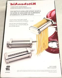 KitchenAid 3-Piece Pasta Roller & Cutter Attachment Set Bran