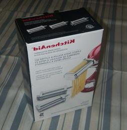KITCHENAID 3-piece pasta roller & cutter set Stand Mixer Att