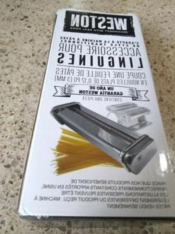 WESTON 3mm LINGUINI ATTACHMENT MODEL# 01-0204 - NEW pasta ma