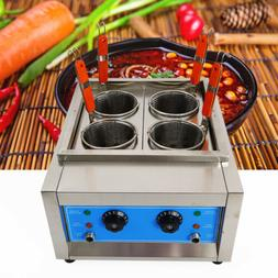 4 Holes Noodles Cooker Machine Electric Pasta Cooking Machin