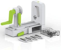 5-Blade Spiralizer Vegetable Slicer, Zucchini Noodle Maker,