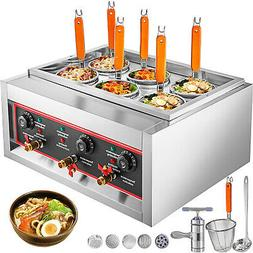 6 Basket Electric Noodle Pasta Ramen Cooker Noodles Machine
