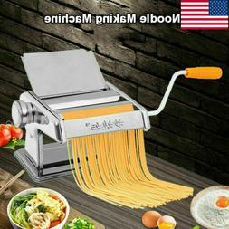 "7"" Pasta Maker Roller Machine Dough Making Fresh Noodle Make"