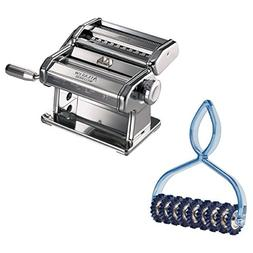 Atlas Stainless Steel Pasta Machine with Pasta Bike