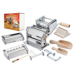 CucinaPro Imperia iPasta Deluxe 11pc Pasta Making Factory Gi