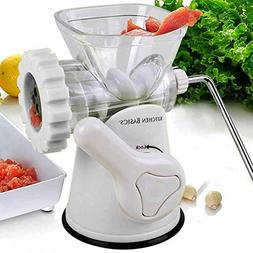 Kitchen Basics 3-In-1 Meat Grinder and Vegetable Grinder/Min