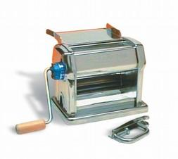 Imperia Restaurant Manual Pasta Machine with Handle, Clamp a