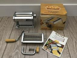 Atlas Marcato Model 150 Pasta Maker Stainless Steel  MADE I