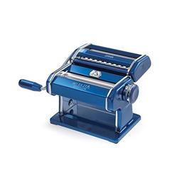 Marcato 8320BL Atlas Machine, Made in Italy, Blue, Includes