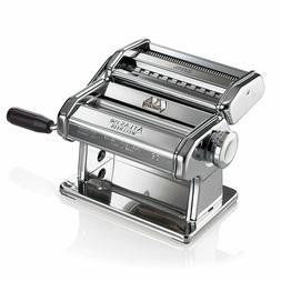 Marcato Atlas Pasta Maker, Stainless Steel, Italian Pasta Ma