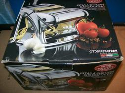 BRAND NEW OLIVIER REMY STAINLESS STEEL PASTA MACHINE WITH PA