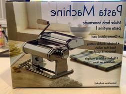 Weston Brand Pasta Machine. Instructions/recipe book include