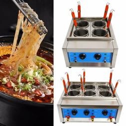 Commercial 4/6Holes Noodle Cooker Electric Pasta Cooking Mac
