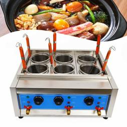 Commercial 6 Holes Noodles Cooker Electric Pasta Cooking Mac