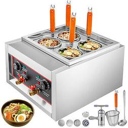 Commercial 4 Holes Noodle Cooking Machine Electric Pasta Coo