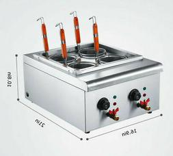 Commercial Electric Pasta Cooking Machine Noodle Boiler 4 Ho
