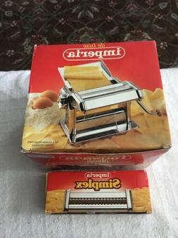 De Luxe Imperia Pasta Machine Plus Simplex Accessory New Nev