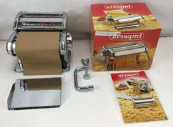 Imperia Deluxe Pasta Machine Maker made in Italy Manual NEW
