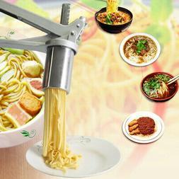 DIY Spaghetti Manual Press Pasta Machine Cutter Noodle Maker
