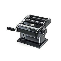 Atlas Electric Pasta Machine, Black with Motor Set