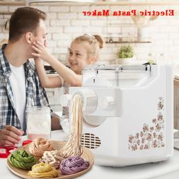 Electric Pasta Maker Machine,Automatic Noodle Maker with 9 N
