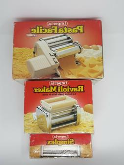 Imperia Home Pasta Machine, Ravioli Maker, Simplex Pasta Mak