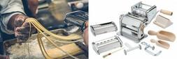 Imperia Pasta Maker Machine- Deluxe 11 Piece Set w Machine,
