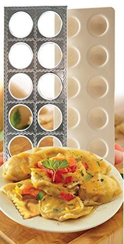 Norpro Jumbo Ravioli Maker Press Pasta Dough W Recipes 1040