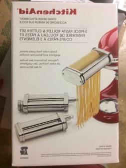 KITCHEN AID Stand Mixer Attachment  3-Piece Pasta Roller & C