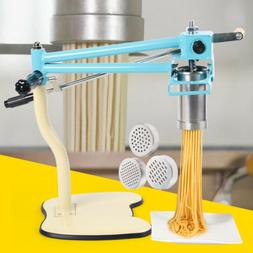 Kitchen Commercial Noodles Maker Hand Press Pasta Making Mac