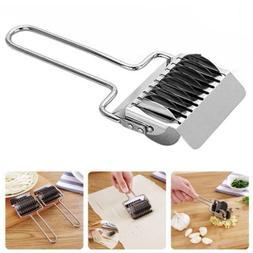 Kitchen Stainless Pasta Noodle Maker Machine Roller Docker D