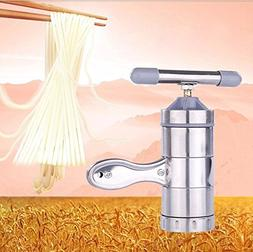 New Kitchen Stainless Steel Pasta Noodle Maker Press Spaghet
