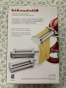Kitchenaid KSMPRA Stand Mixer Attachment 3-Piece Pasta Rolle