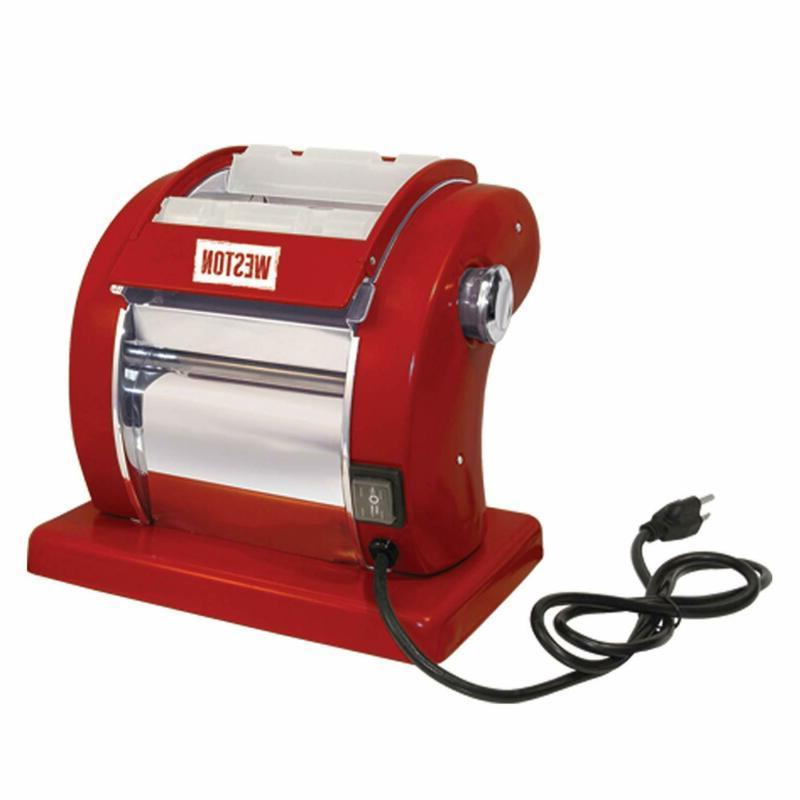 01 0601 w red electric pasta machine