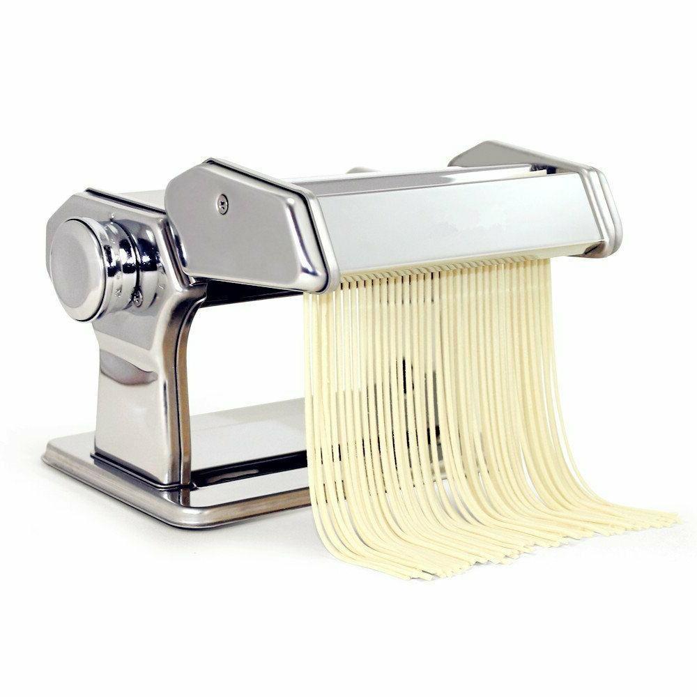 HuiJia Pasta Machine Stainless Steel Linguine