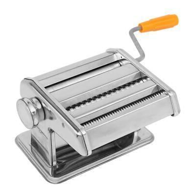 """Pasta Maker Roller Machine 6"""" Spaghetti Noodle Fettuccine Ma"""