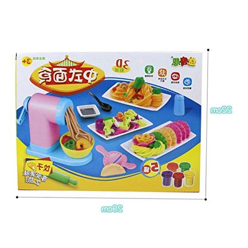 Mold Noodle Clay DIY Simulation Noodles Machine Pretend Toy Chinese Food Modeling