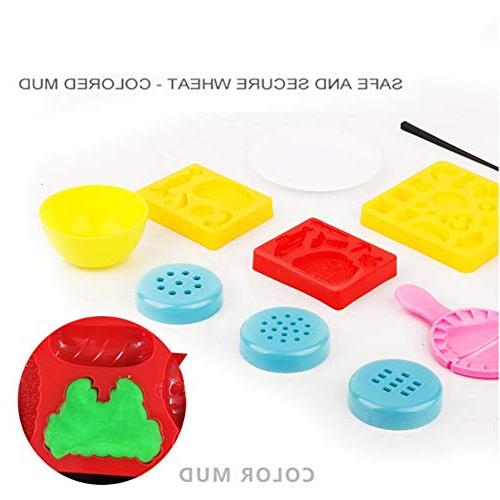 Balai 3D Color Clay Mold Tool Dough Machine Toy Gift