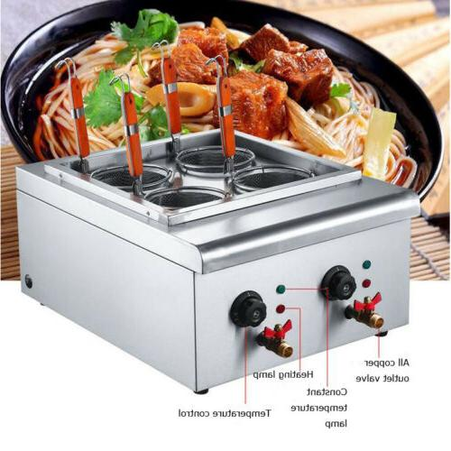 4 holes noodle machine electric pasta cooking