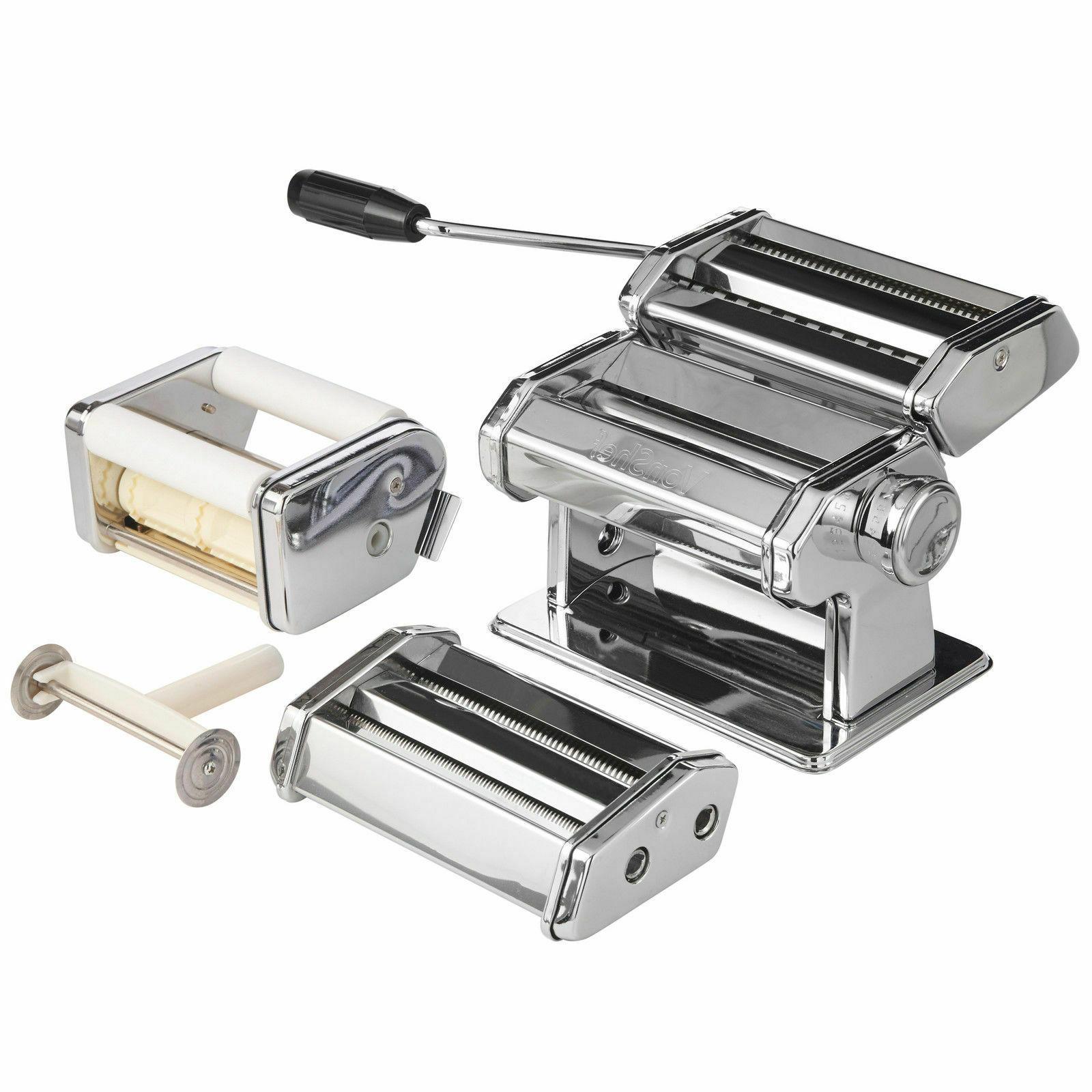 5 1 Pasta Maker Ravioli Tagliatelle Steel